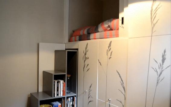 Een appartement van 8 vierkante meter, het kan!