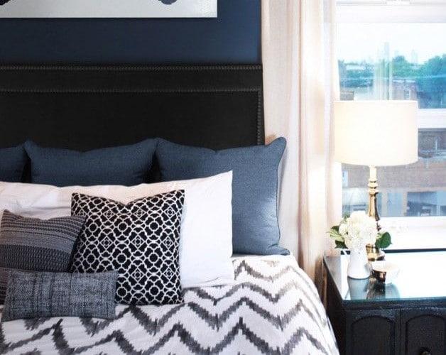 slaapkamer blauw — InteriorInsider.nl