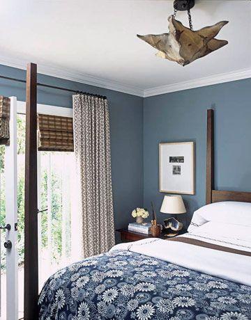 Blauwe slaapkamer — InteriorInsider.nl
