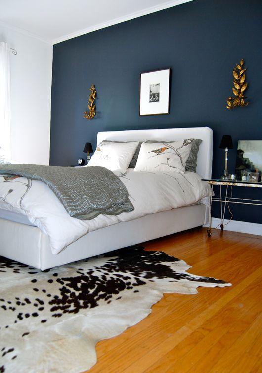 Slaapkamer donkerblauw  u2014 InteriorInsider nl