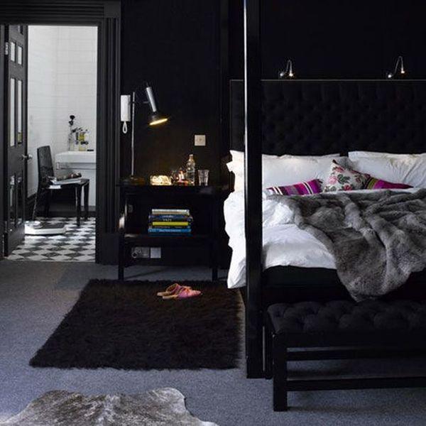 slaapkamer zwart wit zilver – artsmedia, Deco ideeën