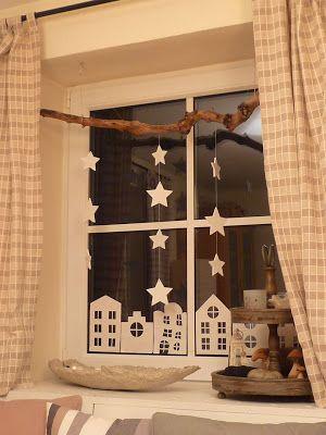 Decoratie raam - Deco ingang buitenkant ...
