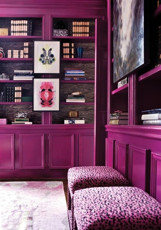 Kleuren in interieur