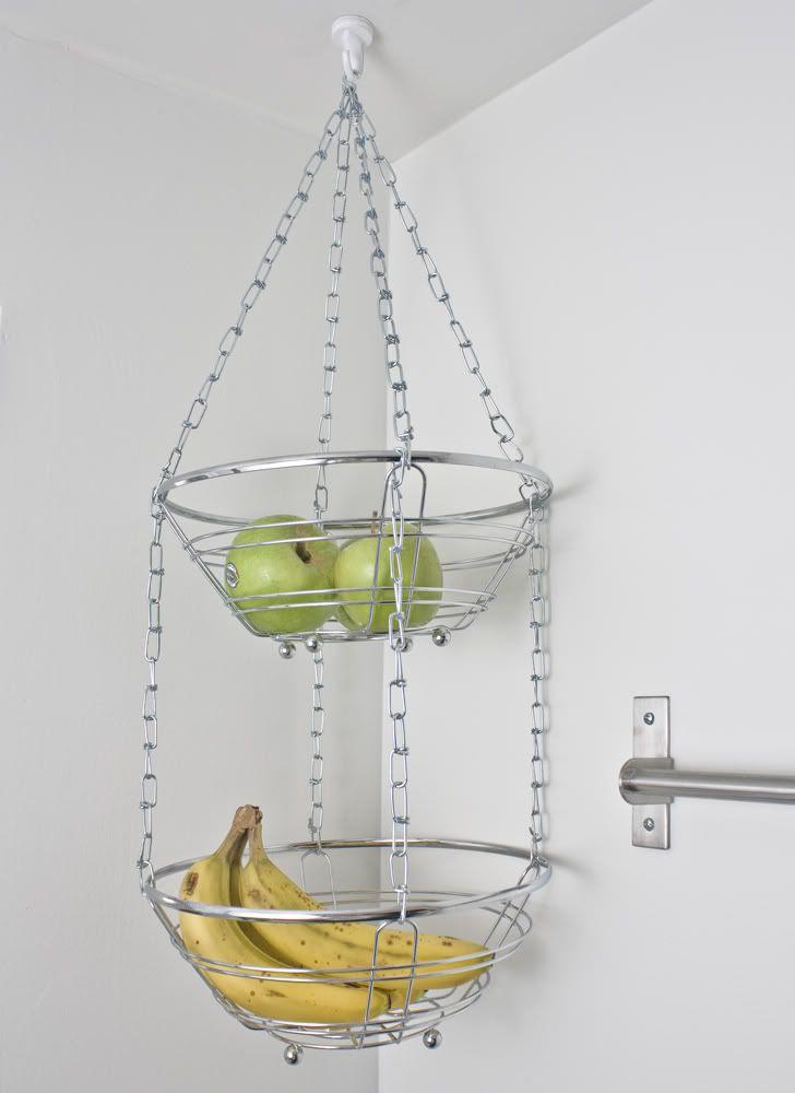 Hangende Fruitmand Voorbeelden Van Mandjes In De Keuken