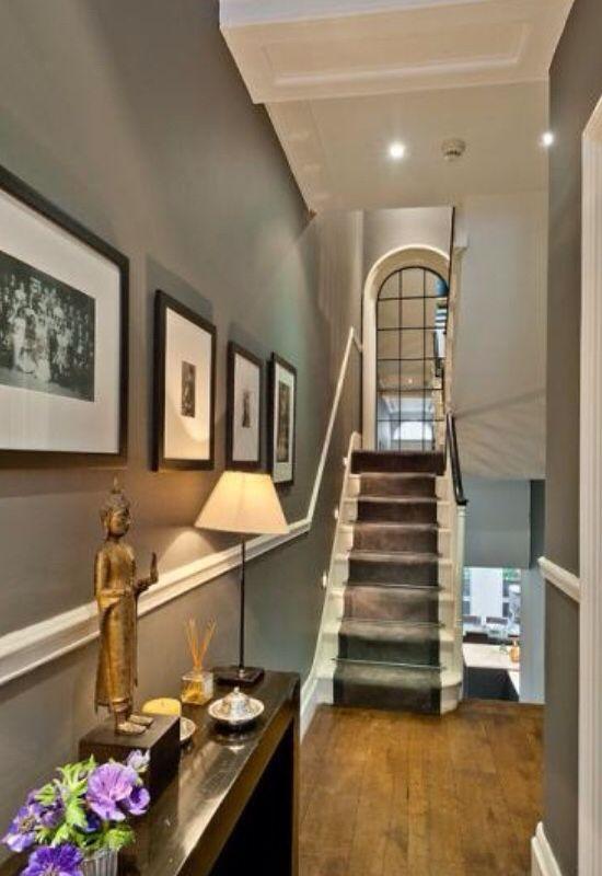 Tips inrichting gang interieur amp diy creatief met krijtverf stijlvol styling - Entree decoratie interieur ...