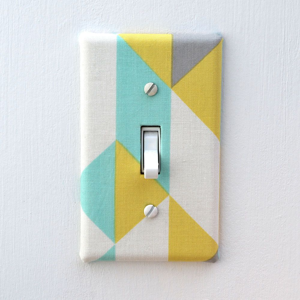 fabric-covered-light-switch-plate-cover