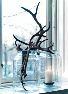 Gewei decoratie interieur insider for Wit gewei decoratie