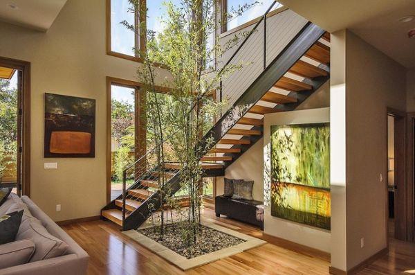 Grote ruimte inrichten interieur insider - Midden kamer trap ...