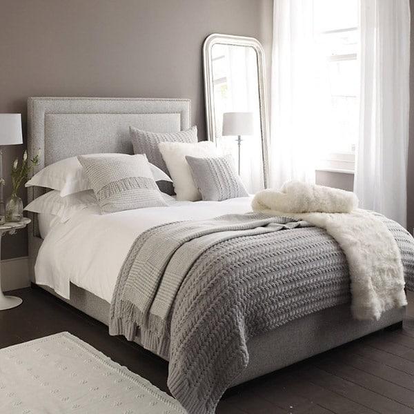 Grijze slaapkamer — InteriorInsider.nl