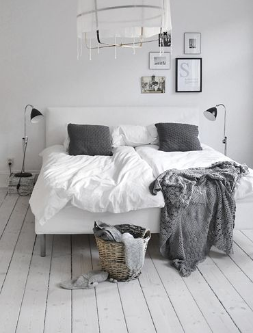 Grijze slaapkamer interieur insider - Slaapkamer kleur idee ...