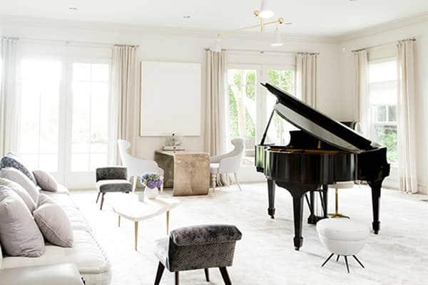Muziekkamer van Gwyneth Paltrow