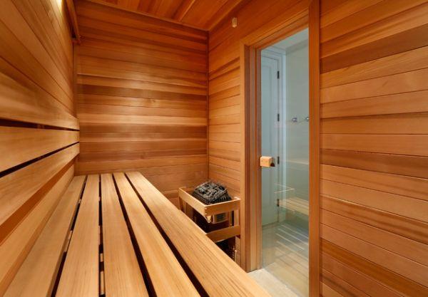 Sauna In Huis : Sauna in huis u interiorinsider