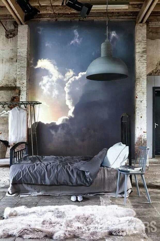 Industri le slaapkamer - Interieur decoratie volwassen kamer ...