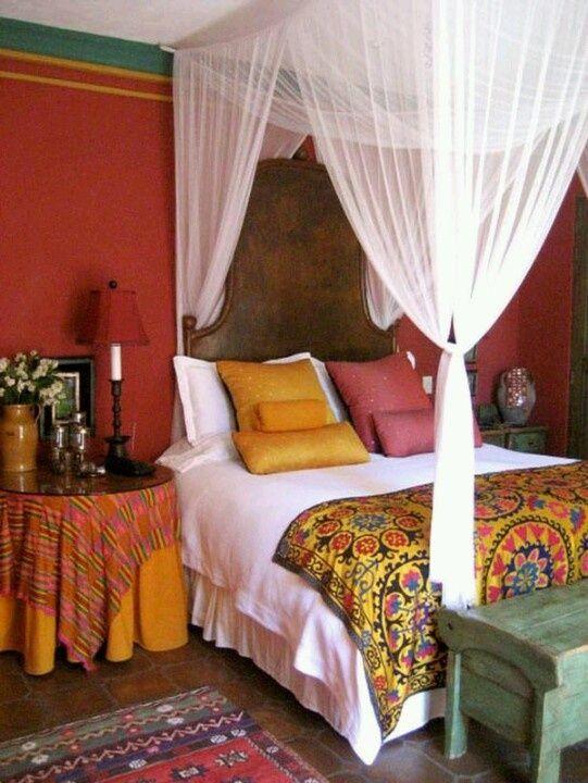 marokkaanse slaapkamer - interieur insider, Deco ideeën