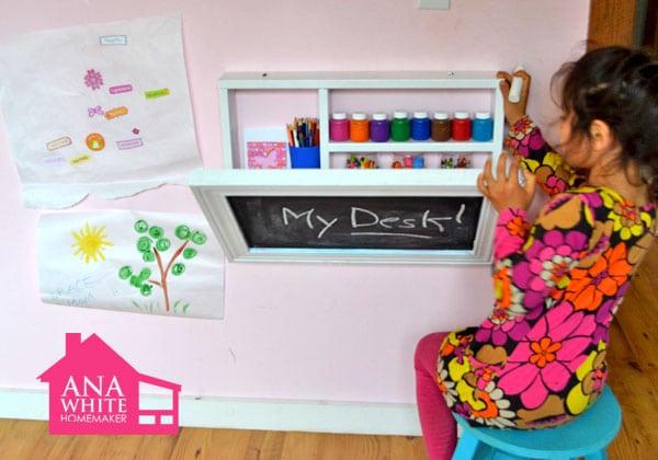 Bureau voor kinderkamer