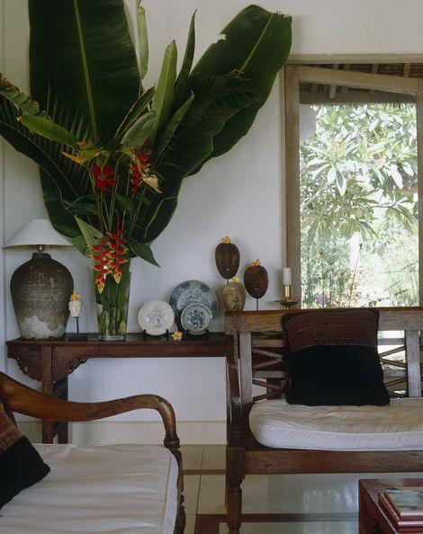 Koloniaal interieur