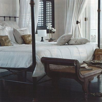 Koloniale slaapkamer interieur insider for British colonial style bedroom