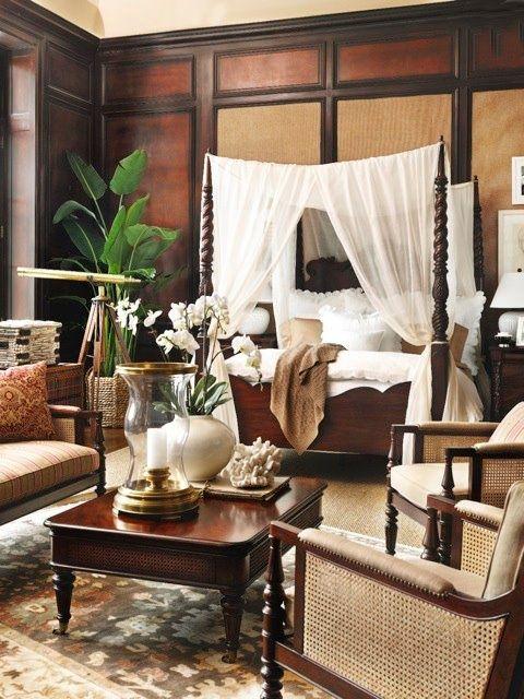 koloniale slaapkamer interieur insider. Black Bedroom Furniture Sets. Home Design Ideas