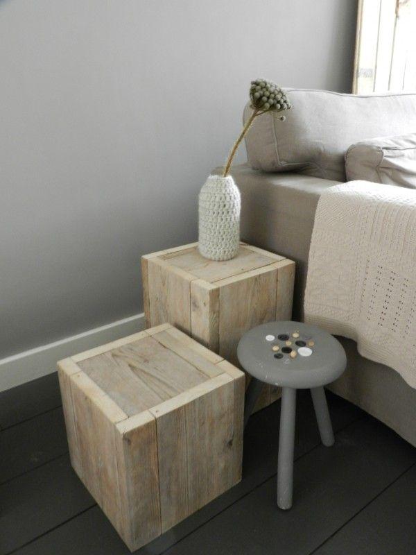 robuust houten krukje maken