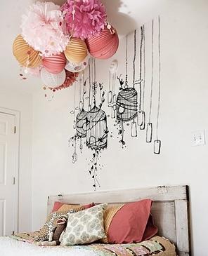 Lampionnen decoratie interieur insider - Interieur decoratie volwassen kamer ...