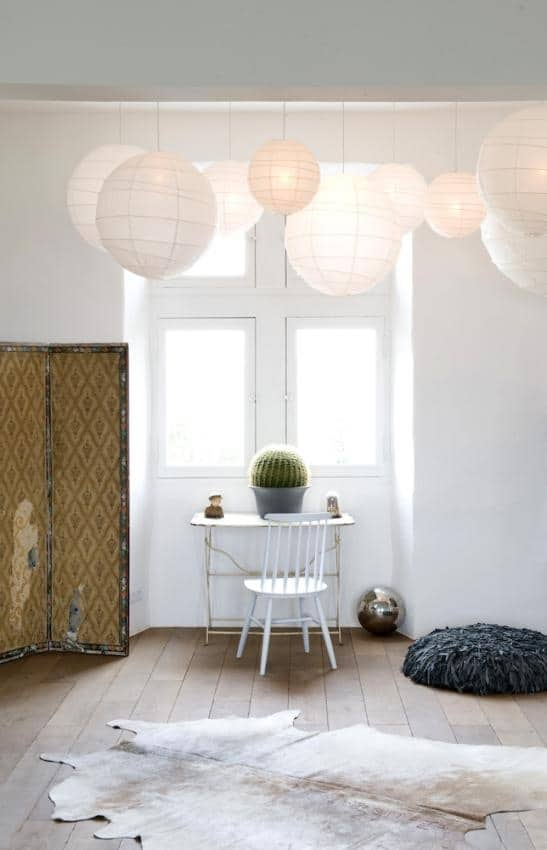 Lampionnen decoratie - Decoratie volwassen kamer zen ...