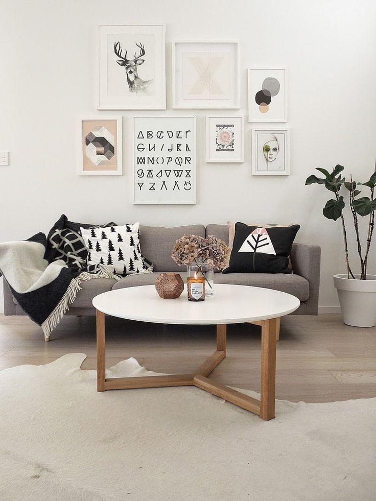 Landelijke kleuren woonkamer - Idee schilderij living ...