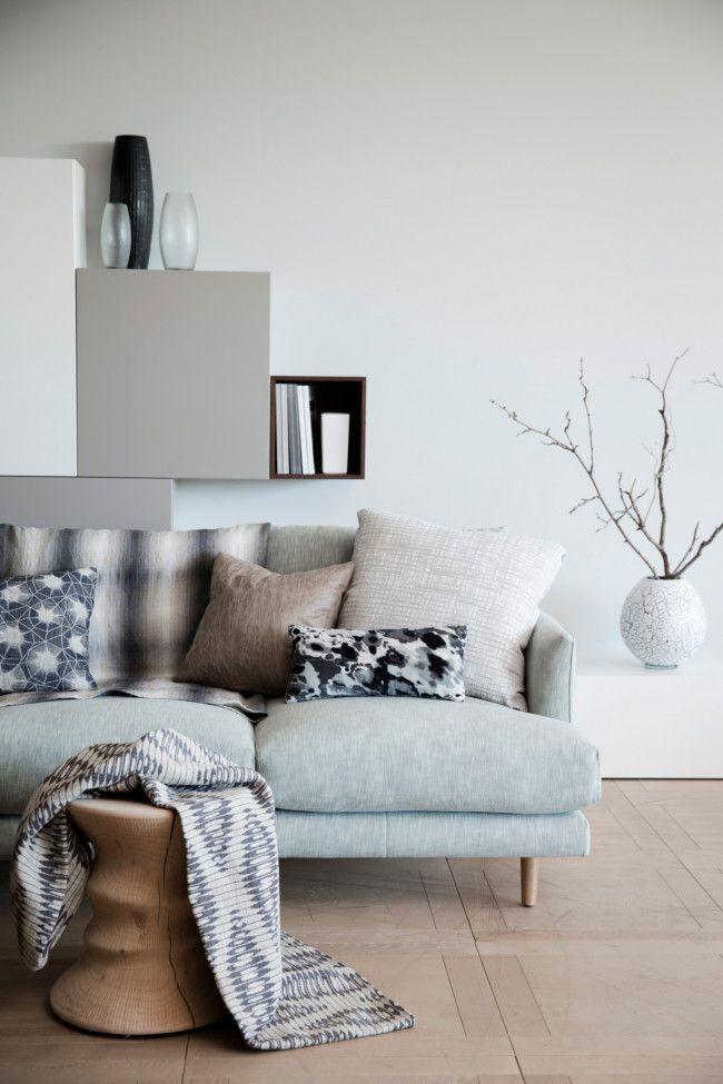 Landelijke kleuren woonkamer - Interieur decoratie volwassen kamer ...