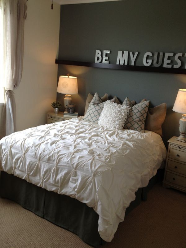 Logeerkamer inrichten for Bedroom designs on pinterest