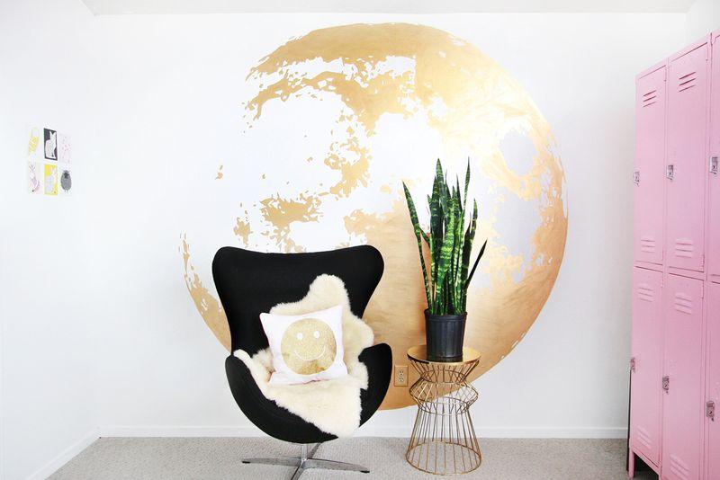 DIY muur decoratie