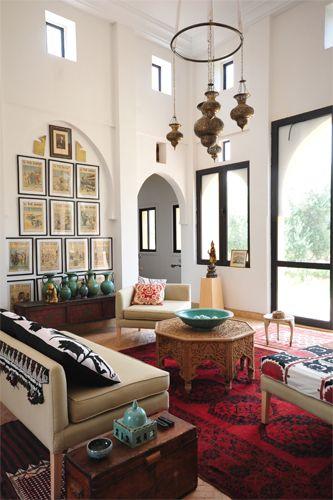 Marokkaans interieur - Deco eigentijds design huis ...