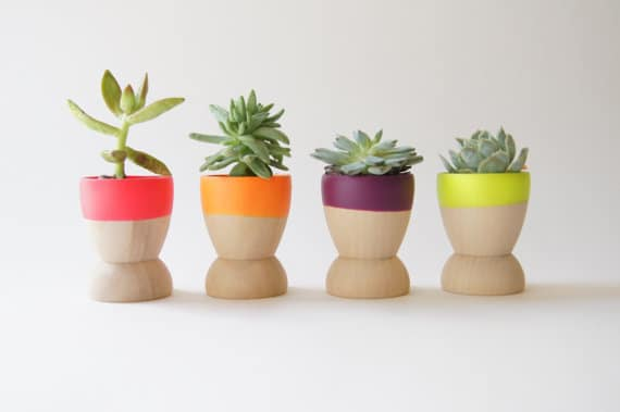 Paarse Slaapkamer Spullen : Small Flower Pots and Planters