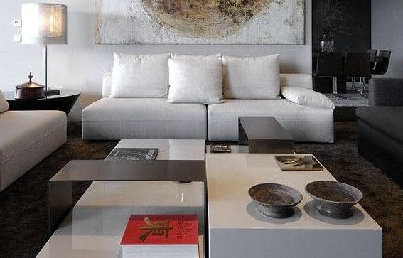 Modern interieur kleuren for Interieur woonkamer modern