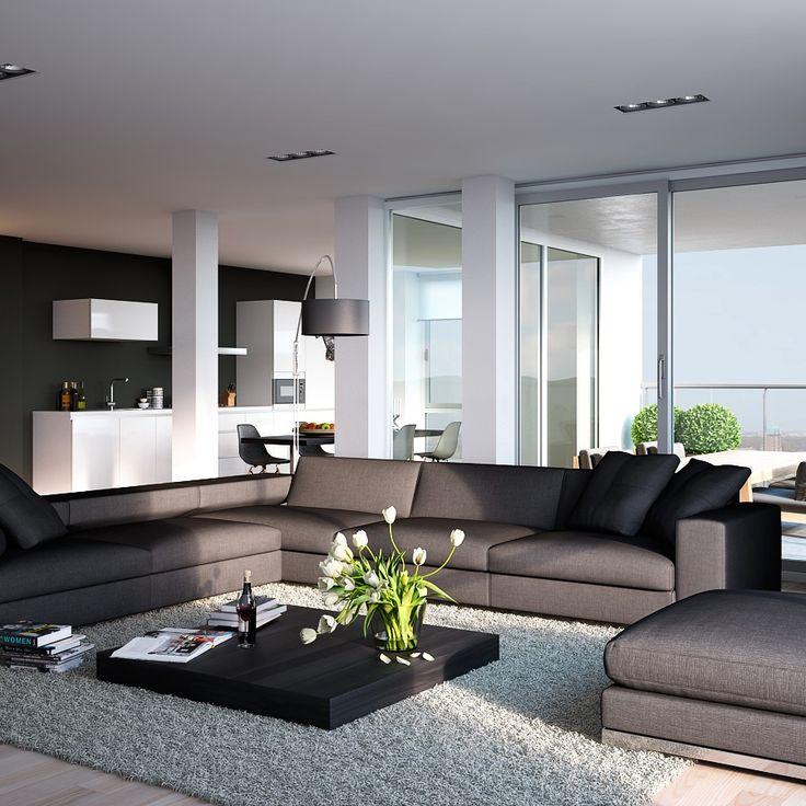 Modern interieur kleuren interieur insider for Interieur moderne design