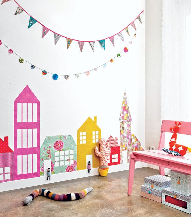 Kids Room Decor Ideas Pinterest: Wandstickers Kinderkamer