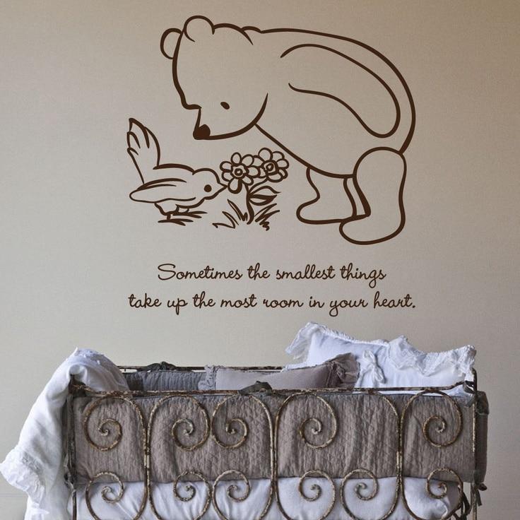 Muurversiering babykamer - Room muur van de baby ...