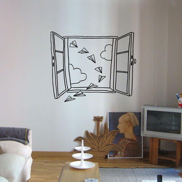 Wandstickers kinderkamer - Interieur Insider: www.interiorinsider.nl/wandstickers-kinderkamer