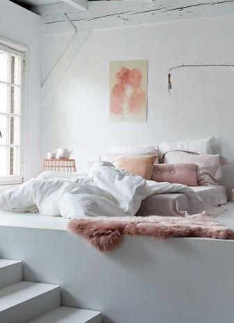 Pastel slaapkamer - Zimmer dekorationsideen ...