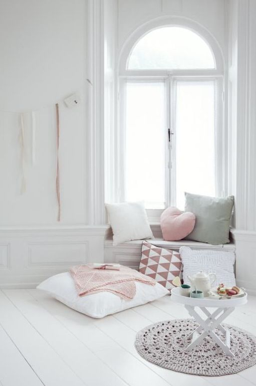 Pastel slaapkamer for Deco kamer
