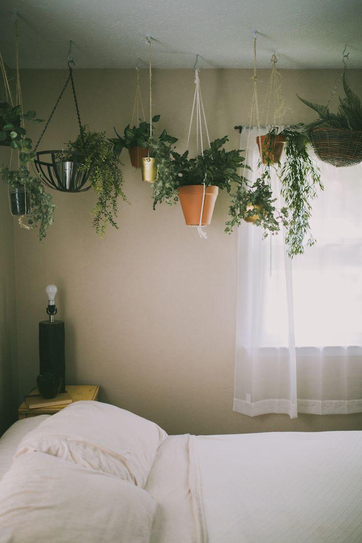 Planten in de slaapkamer   interieur insider