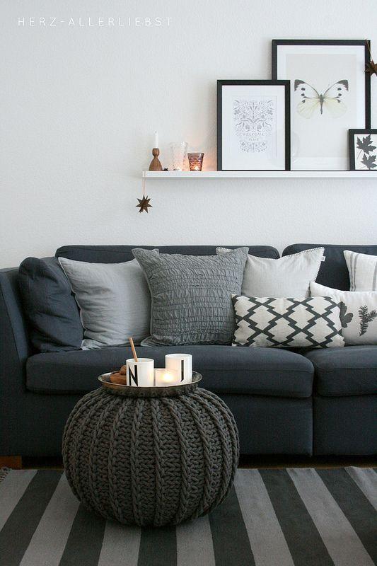 trendy poef. Black Bedroom Furniture Sets. Home Design Ideas