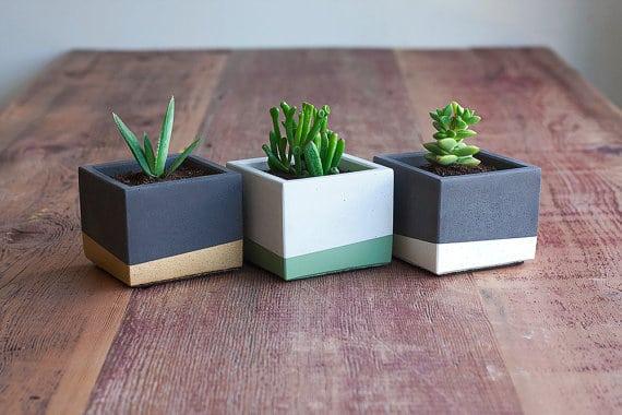 Kleine plantenpotten