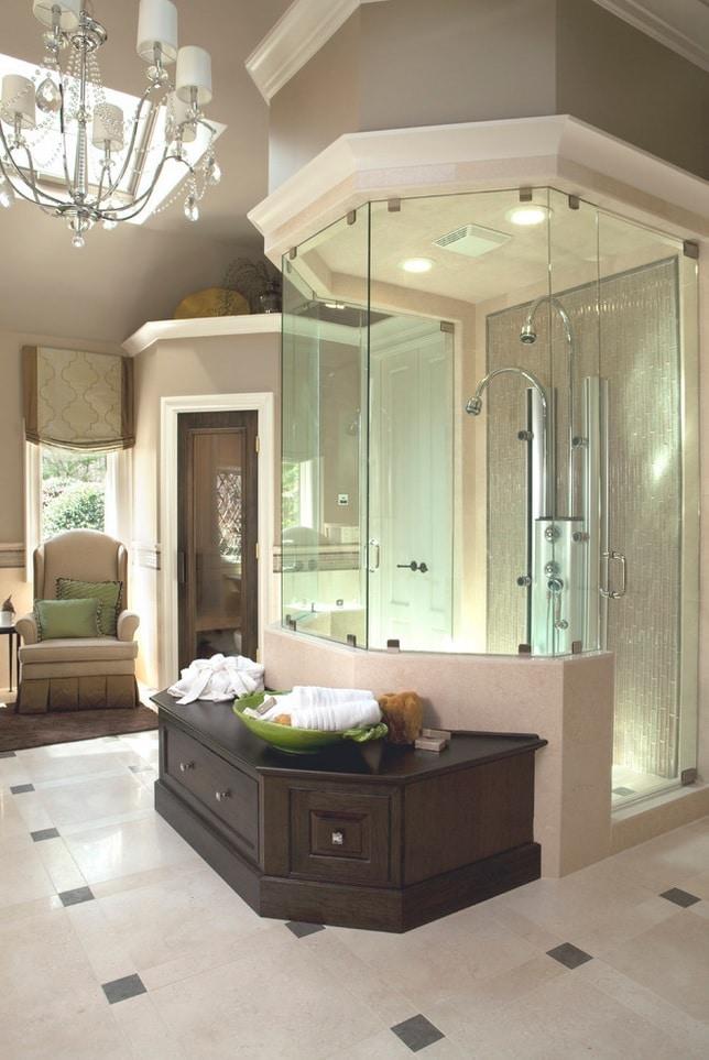 Douche voorbeelden - Open douche ruimte ...