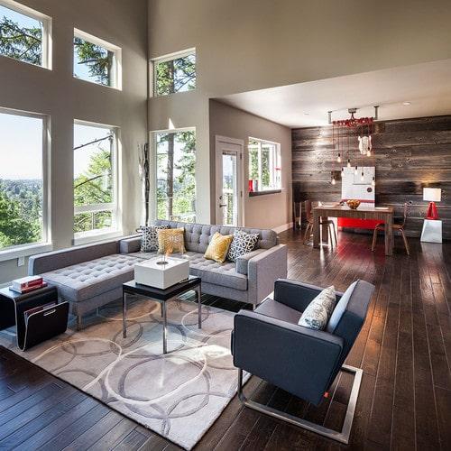 lvormige woonkamer inrichten  interieur insider, Meubels Ideeën