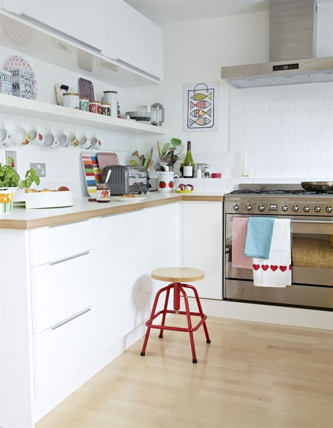 Scandinavische Keuken : Scandinavian Style Kitchen