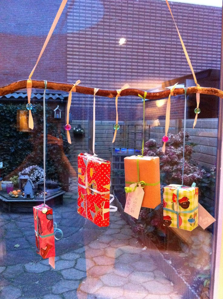 Sinterklaas decoratie - Decoratie van de kamers van de meiden ...