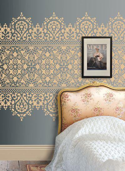 Slaapkamer behang idee - Interieur Insider
