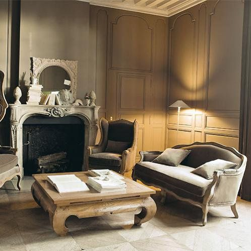 Stijl interieur for Interieur haussmannien