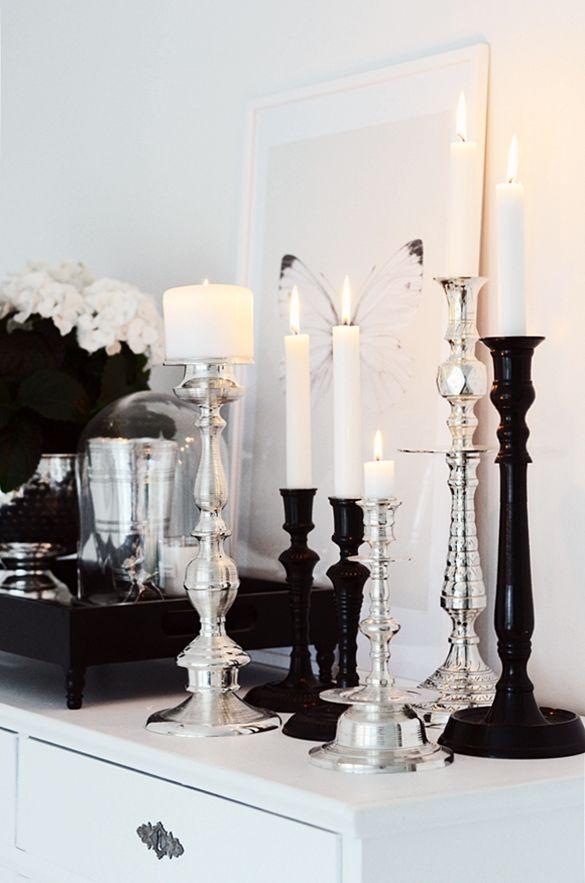 Verschillende interieurstijlen interieur insider - Black white and silver bedroom ideas ...
