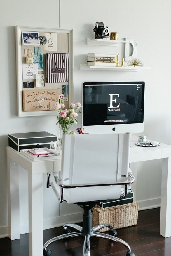 Wonderful 55 Elegant And Exquisite Feminine Home Offices  DigsDigs