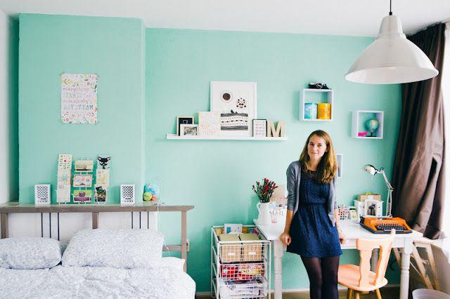 Inrichten kleine studentenkamer interieur insider - Kamer klein meisje jaar ...